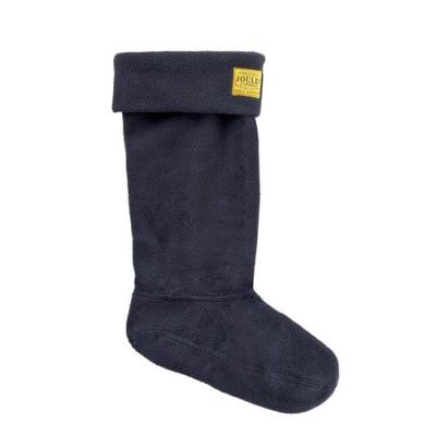 Navy welly sock