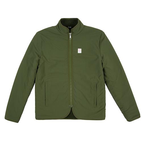 Fleece Sherpa Jacket Olive