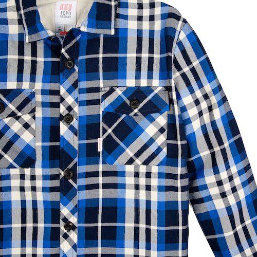 Button flap chest pockets