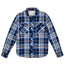 Men's Navy Field Plaid Shirt