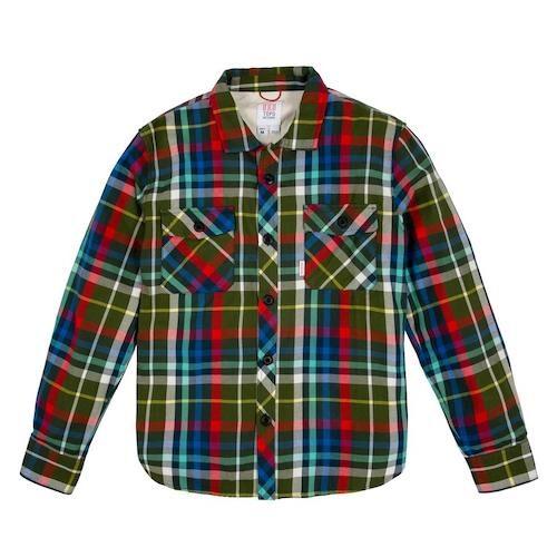 Olive Plaid Field Shirt